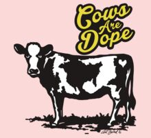 Cows Are Dope One Piece - Long Sleeve