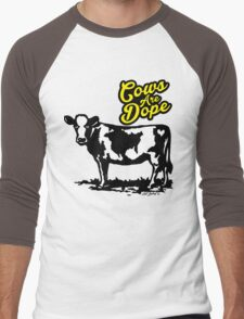 Cows Are Dope Men's Baseball ¾ T-Shirt