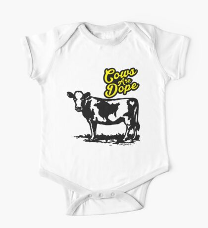Cows Are Dope One Piece - Short Sleeve