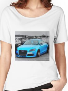 Blue Audi Women's Relaxed Fit T-Shirt