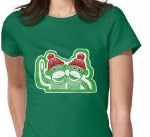 Sock Monkeys Womens Fitted T-Shirt