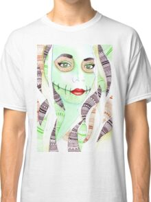 Natural Green Chelsea Smile Classic T-Shirt
