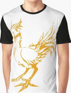 Gold chocobo Graphic T-Shirt