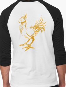 Gold chocobo Men's Baseball ¾ T-Shirt