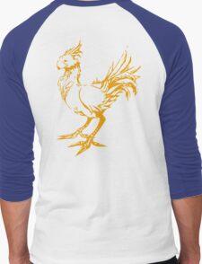 Gold chocobo Men's Baseball ¾ T-Shirt