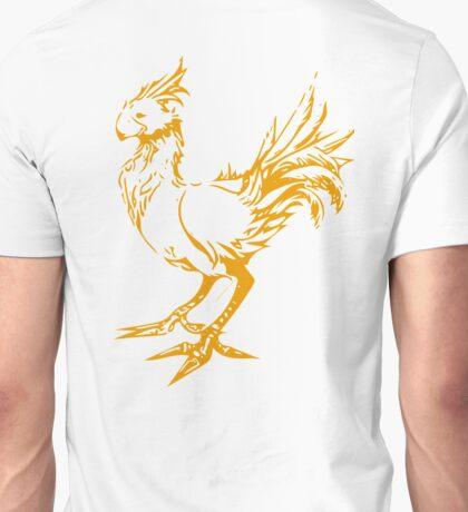Gold chocobo Unisex T-Shirt