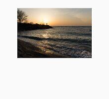 Greeting the Sun on Lake Ontario Unisex T-Shirt