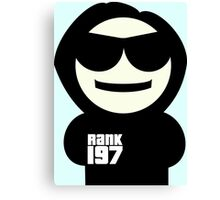Rank 197 Mascot (Bob) Canvas Print