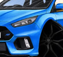 Ford Focus (Mk3) RS Blue Sticker