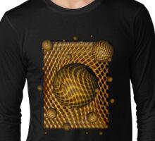 Abstract - Life Grid Long Sleeve T-Shirt