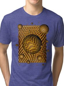 Abstract - Life Grid Tri-blend T-Shirt