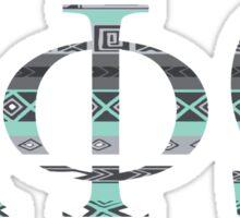 Alpha Phi Omega Aztec Sticker