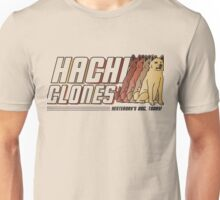 HachiClones - World's Most Loyal Dogs - Clean Brown Design Unisex T-Shirt