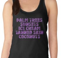 Holiday/Vacation - Ready for Summer - Purple Women's Tank Top