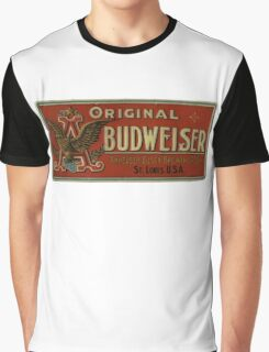 BUDWEISER VINTAGE 100 YEARS OLD ORIGINAL Graphic T-Shirt