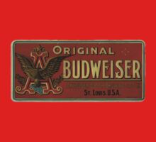BUDWEISER VINTAGE 100 YEARS OLD ORIGINAL One Piece - Long Sleeve