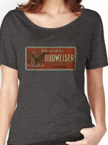 BUDWEISER VINTAGE 100 YEARS OLD ORIGINAL Women's Relaxed Fit T-Shirt