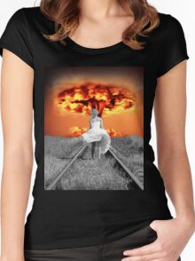 The Beautiful Silhouette Women's Fitted Scoop T-Shirt