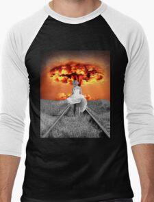 The Beautiful Silhouette Men's Baseball ¾ T-Shirt