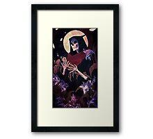 Death tarot card Framed Print