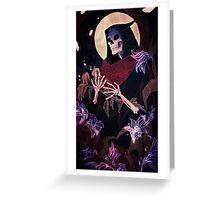 Death tarot card Greeting Card