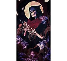 Death tarot card Photographic Print