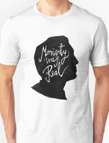 Moriarty Is Real Sherlock Holmes T-Shirt