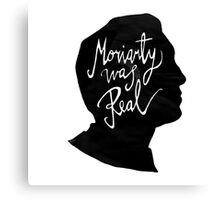 Moriarty Is Real Sherlock Holmes Canvas Print