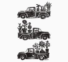 Farm Trucks One Piece - Short Sleeve