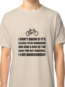 Handsome Ride Bike Classic T-Shirt