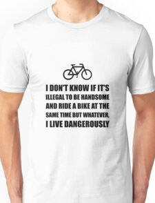Handsome Ride Bike Unisex T-Shirt