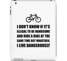 Handsome Ride Bike iPad Case/Skin