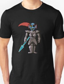 Undyne 8bit Colored T-Shirt
