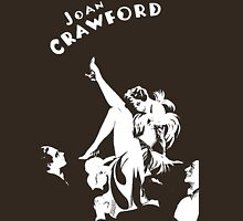 Joan Crawford Art Our Modern Maidens Womens Fitted T-Shirt
