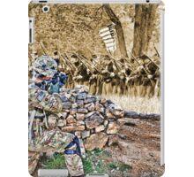 HDR Jarhead vs Sepia Civil War iPad Case/Skin