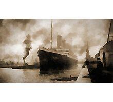Titanic the Ship of Dreams Photographic Print