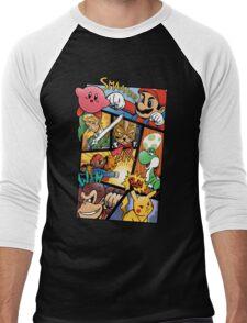 Dairanto Smash Bros Men's Baseball ¾ T-Shirt