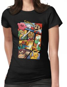 Dairanto Smash Bros Womens Fitted T-Shirt