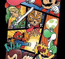 Dairanto Smash Bros by MeleeNinja