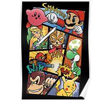 Dairanto Smash Bros Poster
