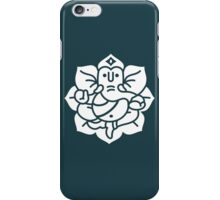 Ganesh Ganesa Ganapati 2 (white) iPhone Case/Skin