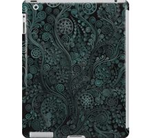Teal ornaments iPad Case/Skin
