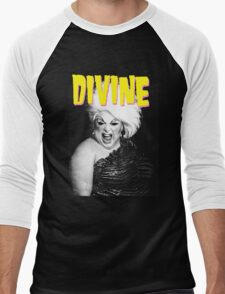 DIVINE - JOHN WATERS Men's Baseball ¾ T-Shirt