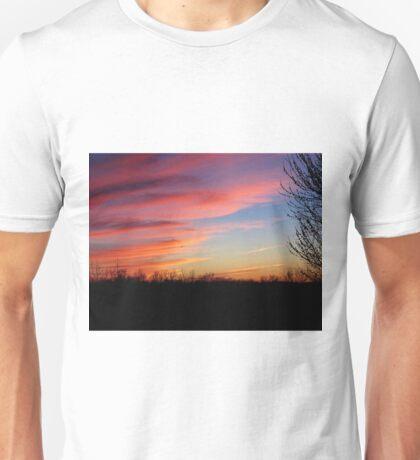 Cotton Candy Sky Unisex T-Shirt