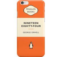 Nineteen Eighty-Four Penguin Cover iPhone Case/Skin