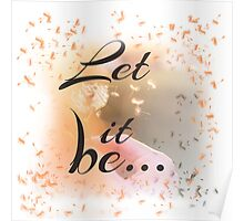 Let it be... Poster