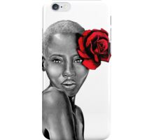 Uzuri | Red iPhone Case/Skin