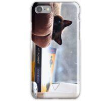 Cat chilling  iPhone Case/Skin
