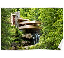 """Dreaming of Fallingwater""  Poster"