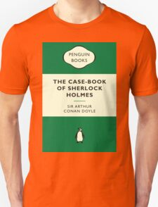 The Case-Book of Sherlock Holmes Penguin Cover T-Shirt